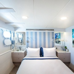 Double accommodation on Superyacht - Great Barrier Reef - Australia