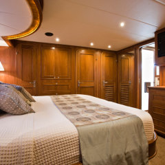 Double Cabin on Cairns luxury private charter boat