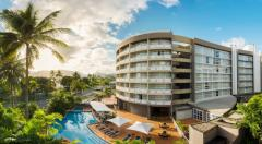 Doubletree by Hilton Cairns located on Cairns Espalanade