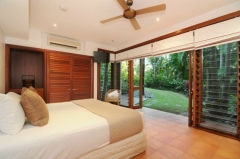 Downstairs Bedroom -  Luxury Port Douglas Holiday Home