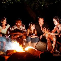 Dreamtime Stories by the Fire Aboriginal Cultural Dinner Show