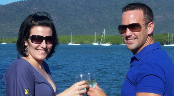 Drink and enjoy on your Cairns harbour cruise