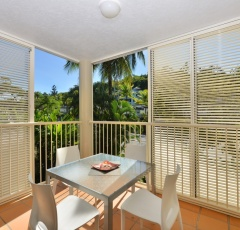 Each apartment with patio or balcony at Port Douglas Apartments