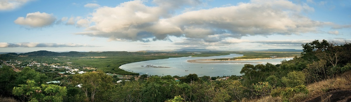 Aerial View Endeavor River Cooktown
