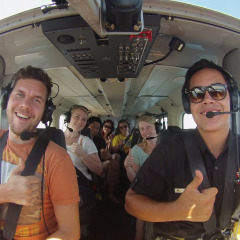 Enjoy a 40 Minutes Scenic Flight & Green Island
