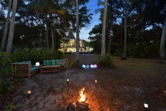 Enjoy a Bon Fire at night