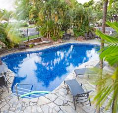 Enjoy a dip in the Pool at Cairns Plaza Hotel - Cairns Esplanade Accommodation