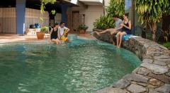 Enjoy a dip in the Pool at Hides Hotel Cairns