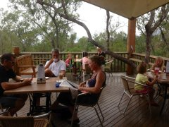 Enjoy a lovely country luncheon at Skybury Coffee Plantation