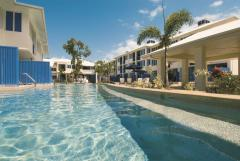 Enjoy a refreshing dip in one of the swimming pools at Silkari Lagoons Port Douglas
