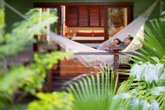Enjoy a romantic rainforest retreat at Silky Oaks Daintree Rainforest, Qld