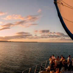 Enjoy a Sunset Dinner Cruise in Cairns
