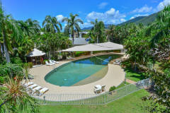Enjoy a swim at Red Cowrie Apartment - Palm Cove
