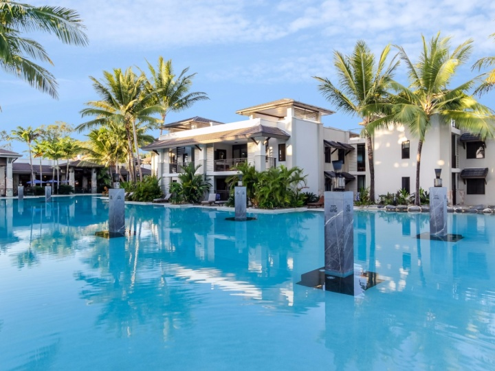 Enjoy a swim in the enormous Swimming Pool - Private Apartments within Sea Temple Port Douglas