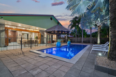Enjoy a swim in your private swimming pool - Palm Cove Holiday Home