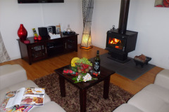 Enjoy a warm wood fire in the winter months - Cairns Atherton Tablelands