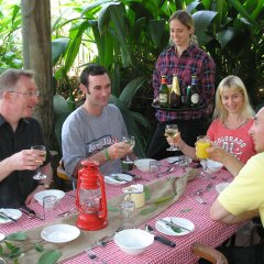 Enjoy a well earned lunch and good conversation with fellow travellers on your Daintree & Cape Tribulation day tour