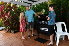 Enjoy an alfresco BBQ on your holiday - true Queensland holiday