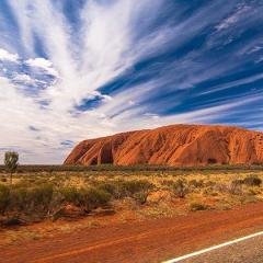 Enjoy Christmas Dinner under the Stars at Uluru with private jet transfers from Cairns.
