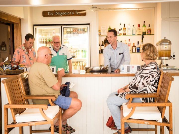 Enjoy complimentary Twilight Punch in the Brigadier Lounge at Twilight - Reef House Resort & Spa Palm Cove