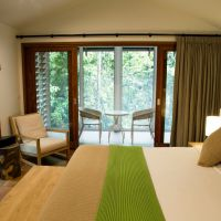 Enjoy contemporary accommodation in the Canopy Bayans at Daintree Ecolodge & Spa