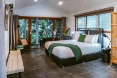 Enjoy contemporary accommodation in the Canopy & Rainforest Bayans at Daintree Ecolodge & Spa