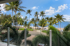 Enjoy ocean views from your private beachfront holiday apartment, Palm Cove
