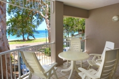 Enjoy Oceanviews from the balcony of your Holiday Apartment at Palm Cove