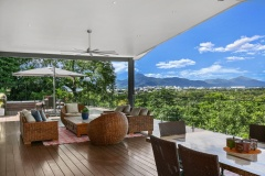 Enjoy panoramic views over Cairns in this luxury holiday house