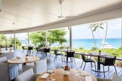 Enjoy stunning ocean views from Saltwater Restaurant  -  Lizard Island All Inclusive Resort | Luxury Great Barrier Reef Accommodation