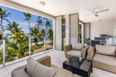 Enjoy stunning Ocean Views from your Private Balcony at Island Views Palm Co
