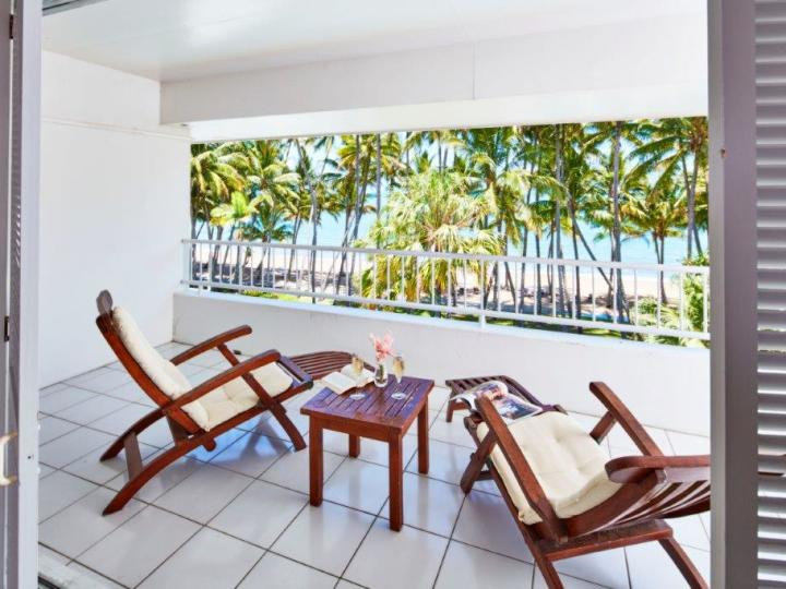 Enjoy stunning views from your private balcony in the Beachfront Suites - Alamanda Resort Palm Cove