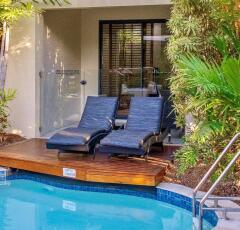 Enjoy swimout access in the One Bedroom Superior Apartment | Meridian Apartments Port Douglas