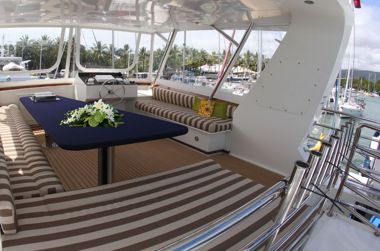 Luxury Private Charter Yacht Port Douglas