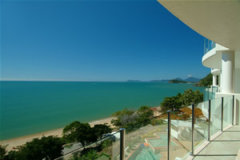 Enjoy the Ocean Views from your private balcony overlooking Trinity Beach  - Bellevue Trinity Beach holiday apartments