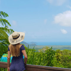 Enjoy the scenic lookouts in Cape Tribulation