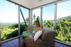 Enjoy the tranquility and panoramic views from every room - Mission Beach Luxury Accommodation