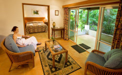 Enjoy the Tropical Gardens from the comfort of your room