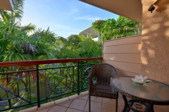 Enjoy tropical views from your private Balcony at this adult only resort on Macrossan