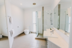 Ensuite Bathroom - On the Beach Port Douglas Apartments