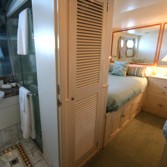 Ensuite bathroom on your boat