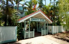 Entrance to Garrick House Holiday Apartments Port Douglas