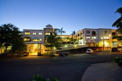 Evening at Regal Holiday Apartments Port Douglas