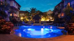 Evening at The Lakes Resort Cairns