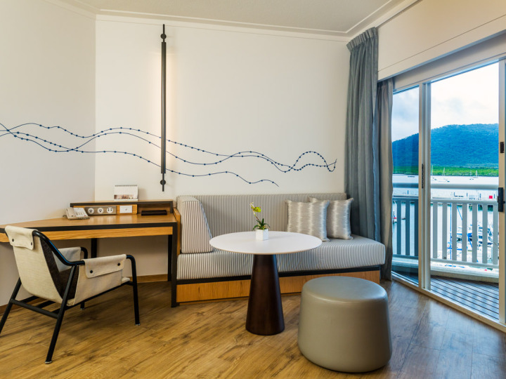 Executive Marina View Room - ShangriLa Cairns Luxury Hotel Accommodation