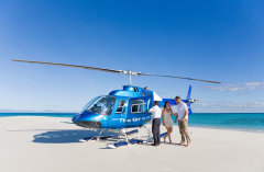 Experience a Scenic Helicopter Flight over the Great Barrier Reef