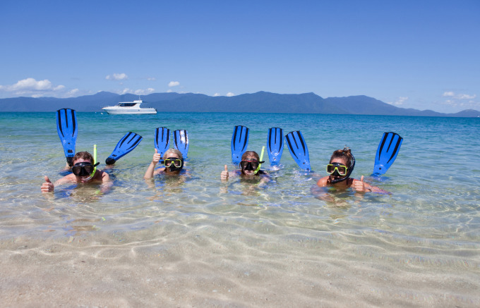 Experience The Great Barrier Reef From Port Douglas