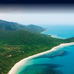 Explore the Daintree & Cape Tribulation region on a scenic helicopter flight