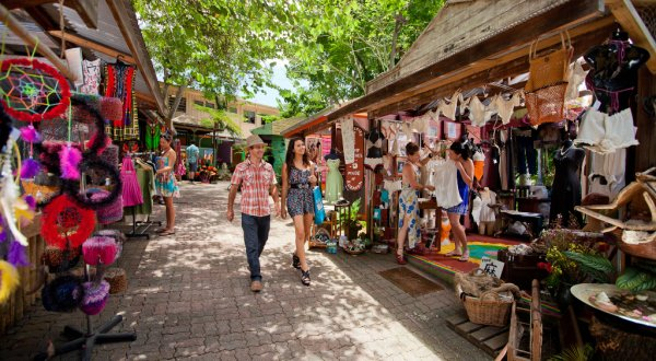 Explore the Kuranda Markets on Your Coach Tour