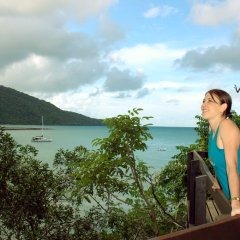 Explore the scenic look outs over the beaches of Cape Tribulation in Tropical North Queensland Australia